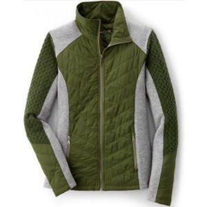 Prana Cargo Green Zinnia Full Zip Jacket